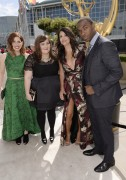 """Vanessa Bayer & Cecily Strong """"66th Annual Primetime Emmy Awards at the Nokia Theatre L.A. Live in Los Angeles"""" (25.08.2014) 2x F16a21347859480"""