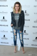 Ashley Tisdale - Velvet x and St. Jude Join The Fight Charity Tee Launch in Malibu 8/27/14