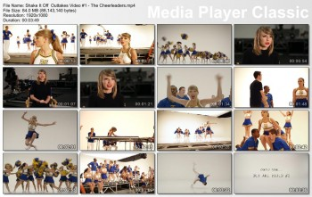 Taylor Swift | Behind the Scenes 'Shake It Off' Cheerleader Sequence | 720p/1080p