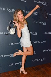 Gisele Bundchen Intimates Collection Launch In Sao Paulo 08-26-2014 (not HQ)