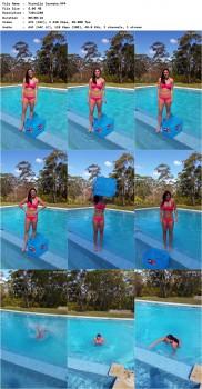 Michelle Jenneke ice bucket challenge