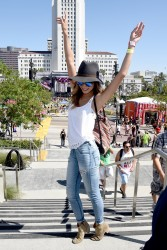 6353c0348525384 Jamie Chung at the 2014 Budweiser Made in America Festival in Los Angeles   August 30, 2014   24 HQ candids