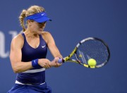 Eugenie Bouchard @ U.S. Open tennis tournament in New York - August 30-2014 x4