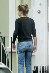 Emma Watson Doing Some Moving in London - 9/1/14