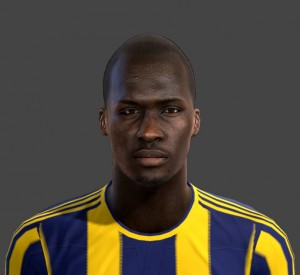 Download Moussa Sow Face by emre For PES 2013
