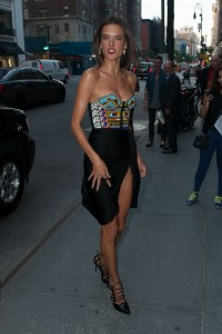 Alessandra Ambrosio @ Schutz Footwear Launch Fall Collection 2014, NYC fashion week September 4,