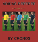 Download Adidas Referee Kits LFP (Liga BBVA/La Liga) 14/15