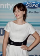 Zooey Deschanel - 2014 FOX Fall Eco-Casino Party in Santa Monica September 8-2014 x9