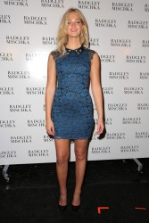 Erin Heatherton - Badgley Mischka Spring 2015 Fashion Show in NYC 9/9/14