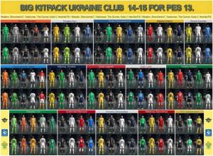 Download Big Kitpack Ukraine Clubs 14-15 by Antoshaaa2013