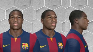 Download Adama Traore Face by A.Mussoullini For PES 2014