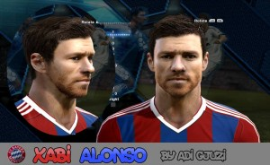 Download Xabi Alonso Face by Adi Gjuzi FOr PES 2013