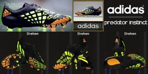 Download PES 2014 Adidas Predator Instinct Black/Lime/Orange made by Ron69