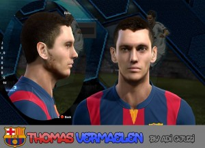 Download Vermaelen Face by Adi Gjuzi For PES 2013