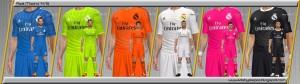 Download PES 2014 Real Madrid 14-15 Kits by Alepes