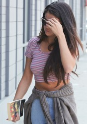 Selena Gomez - Going to a studio in LA 9/12/14