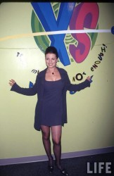 Know yasmine bleeth in pantyhose think, that