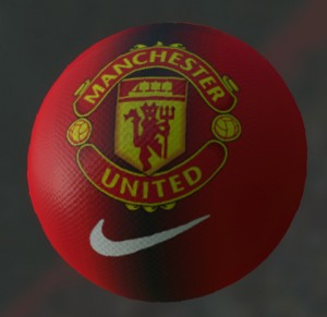 Download Manchester united ball (V2) for PES 2014 by iAMIRi