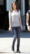 Victoria Justice - Filming 'Eye Candy' in Brooklyn - 9/15/14