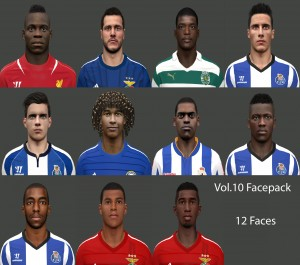Download PES 2014 Facepack Vol.10 by miguelrioave