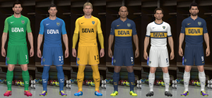 Download Boca Juniors 14-15 GDB by Santy Argentina For PES 2014