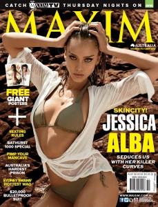 Jessica Alba - Maxim_  Australia Oct; US Sept  (2014)