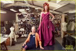 Christina Hendricks - The Hollywood Reporter Photoshoot - September 2014