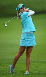 Lexi Thompson at The Evian Championship at the Evian Resort Golf Club 8/10/14 - 8/13/14