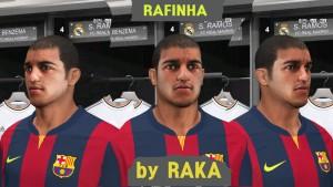 Download PES 2014 Rafinha Face by RAKA