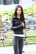 Victoria Justice - Filming 'Eye Candy' in NYC  - 9/22/14