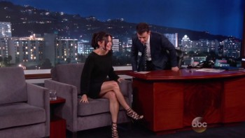 COURTENEY COX - LEGGY - Jimmy Kimmel 09,22,14
