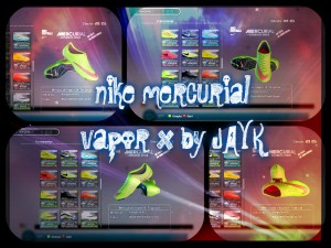 Download PES 2013 Nike Mercurial Vapor Green/Red Boot by jayk
