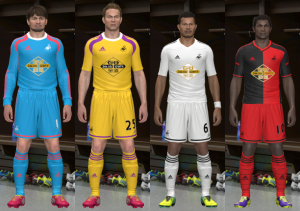 Download Swansea City 14-15 GDB by Santy Argentina For PES 2014