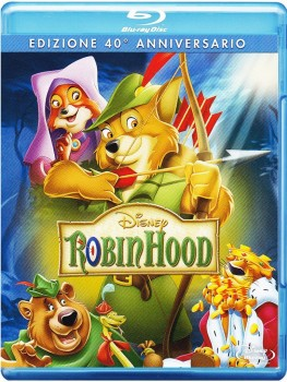 Robin Hood - 40th Anniversary Edition (1973) Full Blu-Ray 37Gb AVC ITA DD 5.1 ENG DTS-HD MA 5.1 MULTI