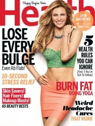 Erin Andrews in Health Magazine - September 2014