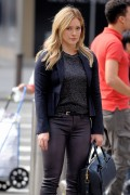 Hilary Duff - On the set of 'Younger' in New York 9/29/14