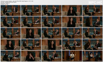 Lauren Graham - Late Late Show With Craig Ferguson - 9-14