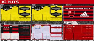 Download PES 2013 Flamengo Kits 2014-15 by JG