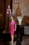 Elizabeth Hurley - Breast Cancer Awareness Month Event At Empire State Building in NYC (10/1/14)