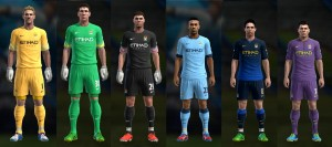 Download PES 2013 Manchester City 2014/2015 GDB by f1xer
