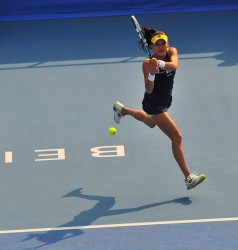 Agnieszka Radwanska 2nd round of 2014 China Open in Beijing 30/09/2014 6