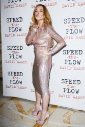 Lindsay Lohan - 'Speed The Plow' Press Night in London 10/2/14