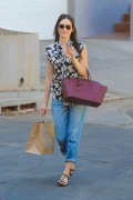 Emmy Rossum out & about in Los Angeles 10/04/14