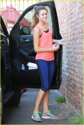 Sadie Robertson at Dancing With The Stars Practice in Los Angeles - October 2, 2014