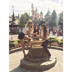 Olivia Holt @ Disneyland - October 3, 2014