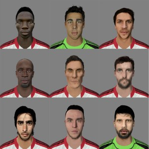 Download Pack Faces Middlesbrough FIFA 14 by HunterBO
