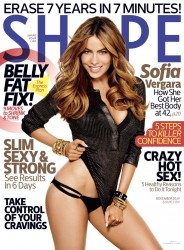 Sofia Vergara - Shape magazine November 2014