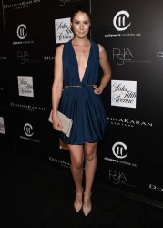 Amanda Crew - PSLA Autumn Party in Los Angeles 10/8/14