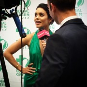 Vanessa Hudgens attended the 10th Annual Gorgeous & Green Gala by Global Green USA in San Francisco [10/10/2014]