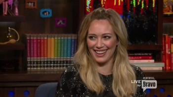 HILARY DUFF - GIADA DE LAURENTIIS - HOT - Watch what happens live